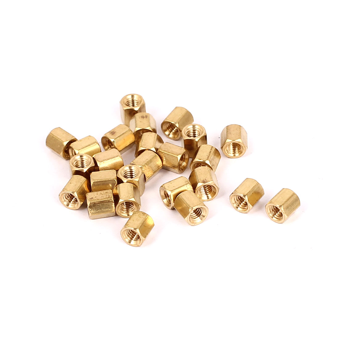 Malleable Brass Flat Top Sign Standoffs,3//4 x 1,for Acrylic,Glass or Other Hard Panel Material,4 PCS Package 3//4 x 1