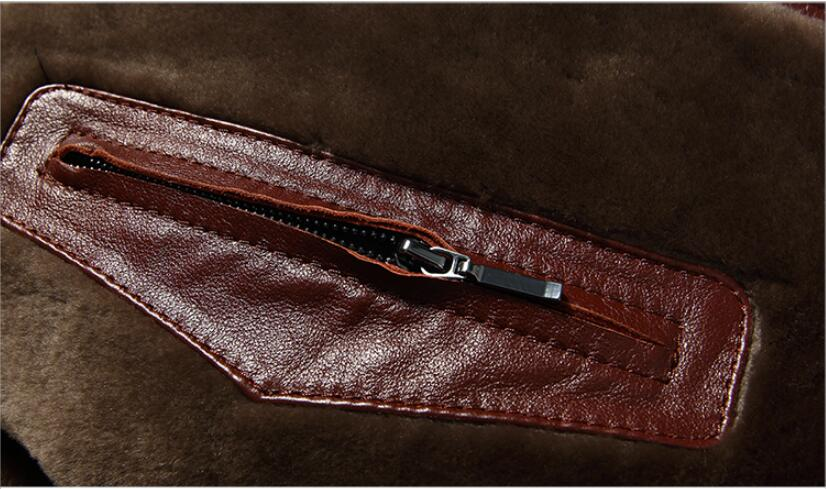 HTB19OwlB2iSBuNkSnhJq6zDcpXa5 AYUNSUE Men's Genuine Leather Jacket Real Cow Leather Plus Size Cowhide Jackets for Men Natural Lamb Fur Coat L178101 KJ841