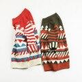 Nuevo de lujo de Navidad boy ropa 2 suéter de color suéter bobo prendas de punto ropa de bebé ganchillo suéteres de los niños