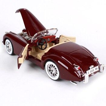 Kit Modello Pressofuso | Bburago 1:24 1951 Jaguar XK 120 Roadster Da Corsa Diecast Model Kit Kit Di Montaggio FAI DA TE Auto Giocattolo Nuovo In Scatola Di Trasporto Trasporto Libero 25061