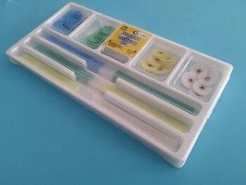 1 set dental clinic orthodontic,dental clinic composite porcelain polishing set,dental dentist material set.