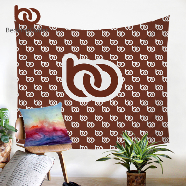 BeddingOutlet Customized DIY Design Tapestry Wall Hanging Decorative Wall Carpet Photo Custom Made Print on Demand Bed Sheet