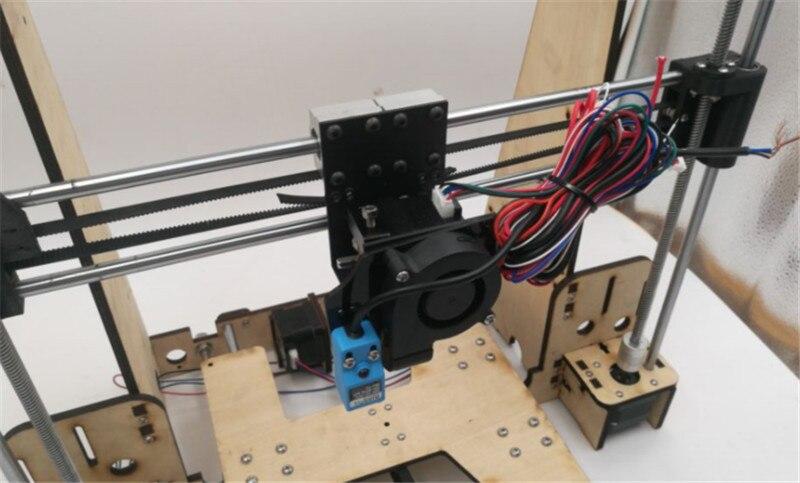 Funssor 1 set Reprap i3 Anet A8/Hesine M505/Tronxy 3D Imprimante clone Cadre mécanique kit 6mm NEMA17 moteur - 3