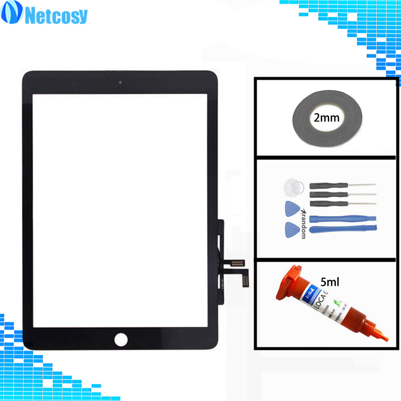 For ipad Air Touch Screen Digitizer Glass lens Sensor panel Repair For ipad A1474 A1475 A1476 A822 A1823 Tablet Touchscreen touchscreen digitizer glass panel for canon imagerunner ir 2016i copier control touch screen