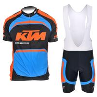 2017 KTM Pro Cycling Jersey Roupa Ciclismo Summer Breathable Men Racing Bicycle Clothing Quick Dry Race