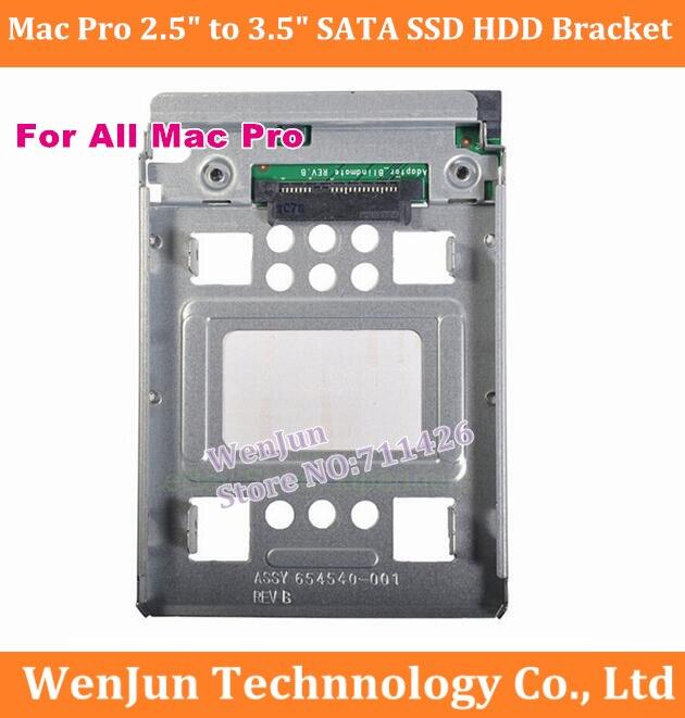 100 Original New 654540 001 2 5 to 3 5 Hard Disk transfer bracket Hot Swap
