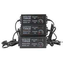 AC to DC Universal power adapter Adjustable 3V-12V 3V-24V 9V-24V display screen voltage Regulated supply adatpor 3 12 24 v