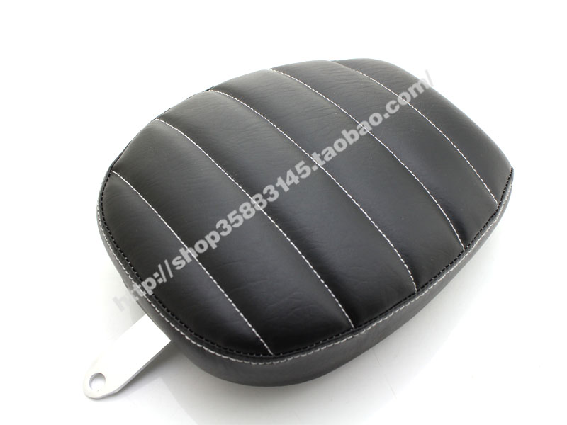 Motorcycle Rear Passenger Pad Seat For Harley Sportster  XL883N XL883 72 48 2004-2015