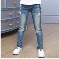 2018 neue Stil Baby Mädchen Jeans Schöne Kinder Casual Hosen Kinder Kleidung Koreanische Jeanshosen