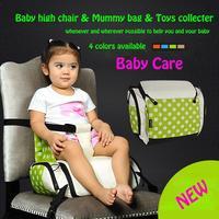 Bolsas De Pañales Para bebés Bolsa de Cochecito de Bebé de Comedor Silla De Juguetes colector de bebes Damas Bolsa de Hombro bolsa de silla de paseo de Las Mujeres Cluth