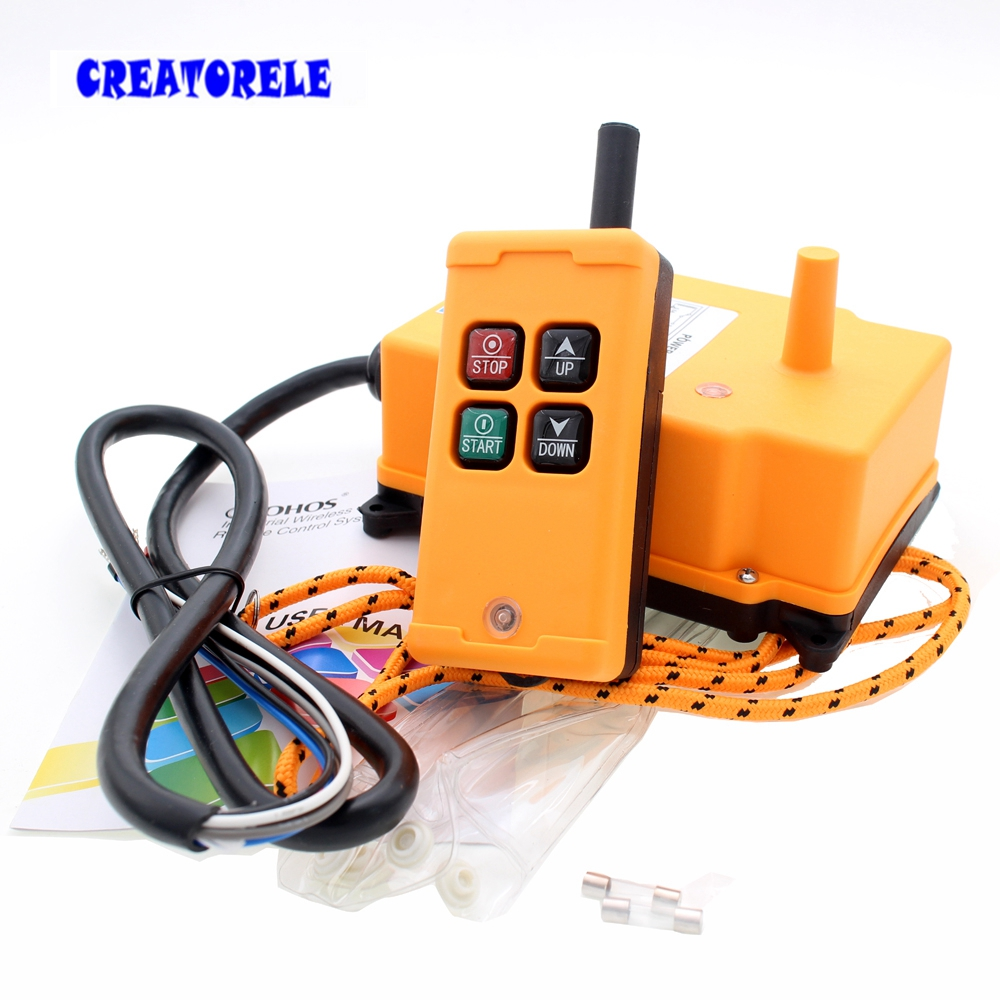 New Arrivals crane industrial remote control HS-4 wireless transmitter push button switch China new arrivals crane industrial remote control hs 8s wireless transmitter push button switch china