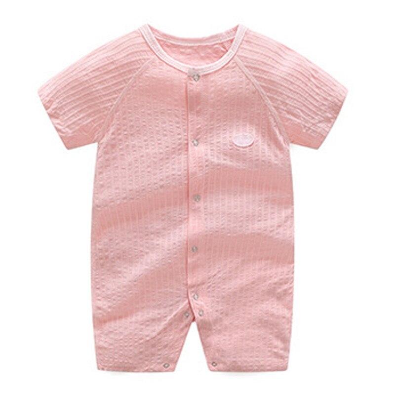 2018 zomer baby meisje rompertjes katoen baby meisje kleding korte - Babykleding - Foto 5