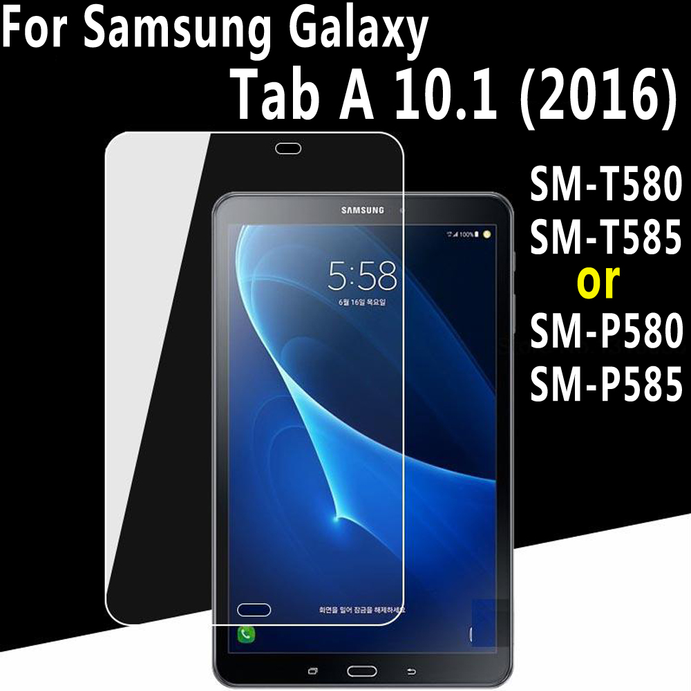 Premium Tempered Glass for Samsung Galaxy Tab A 10.1 2016 T580 T585 P580 P585 SM-T580 SM-T585 / SM-P580 SM-P585 Screen Protector