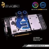 Bykski A SP48PLAT X GPU Water Cooling Block For Sapphire Nitro Radeon RX480