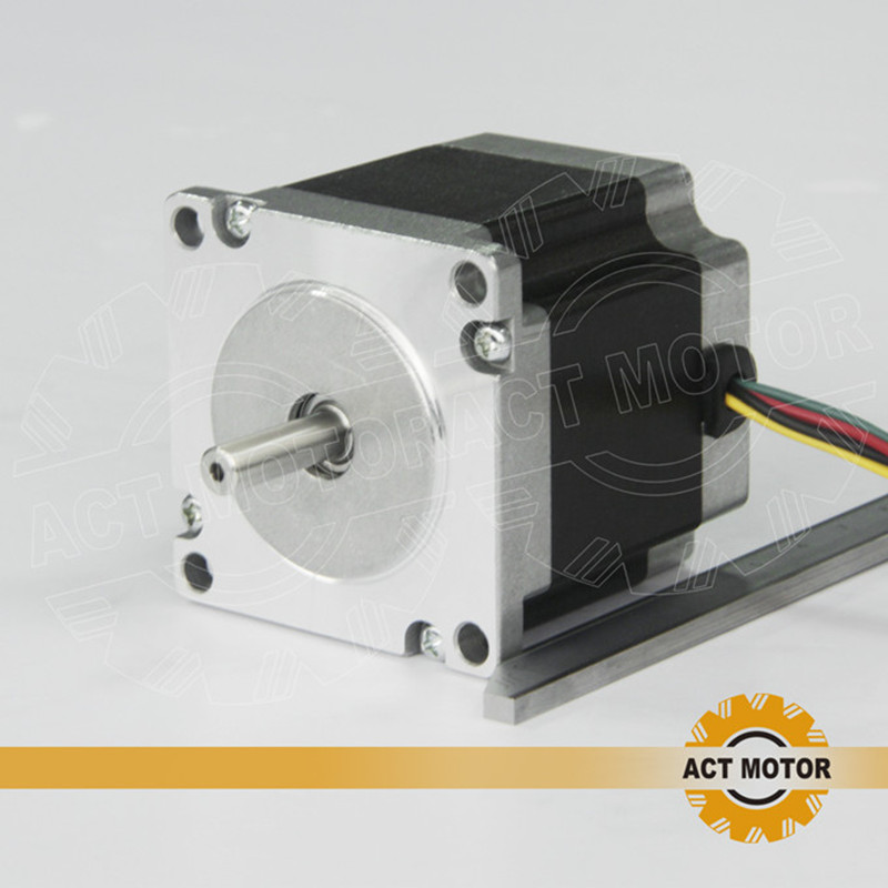 ACT Motor 1PC Nema23 Stepper Motor 23HS6620 Single Shaft 185oz-in 56mm 2A 6-lead CE ROHS ISO US CA UK DE FR IT BE SP JP Free act motor 1pc nema23 stepper motor 23hs8430 4 lead 270oz in 76mm 3 0a bipolar ce iso rohs us ca uk de it fr sp be jp free