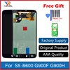 100 Super AMOLED LCD For Samsung Galaxy S5 I9600 G900 G900F LCD Display Touch Screen Digitizer