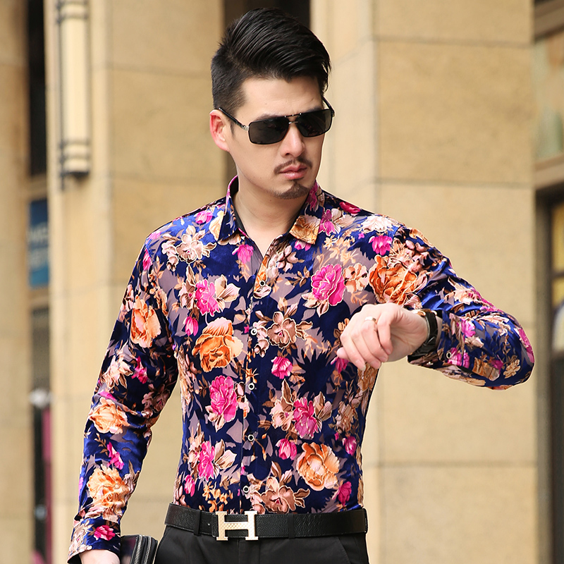 Compare Prices on Silk Floral Shirt 2016 Men- Online Shopping/Buy ...