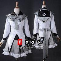 Puella Magi Madoka Magica Cosplay Akemi Homura Costume Women S Dress School Uniforms