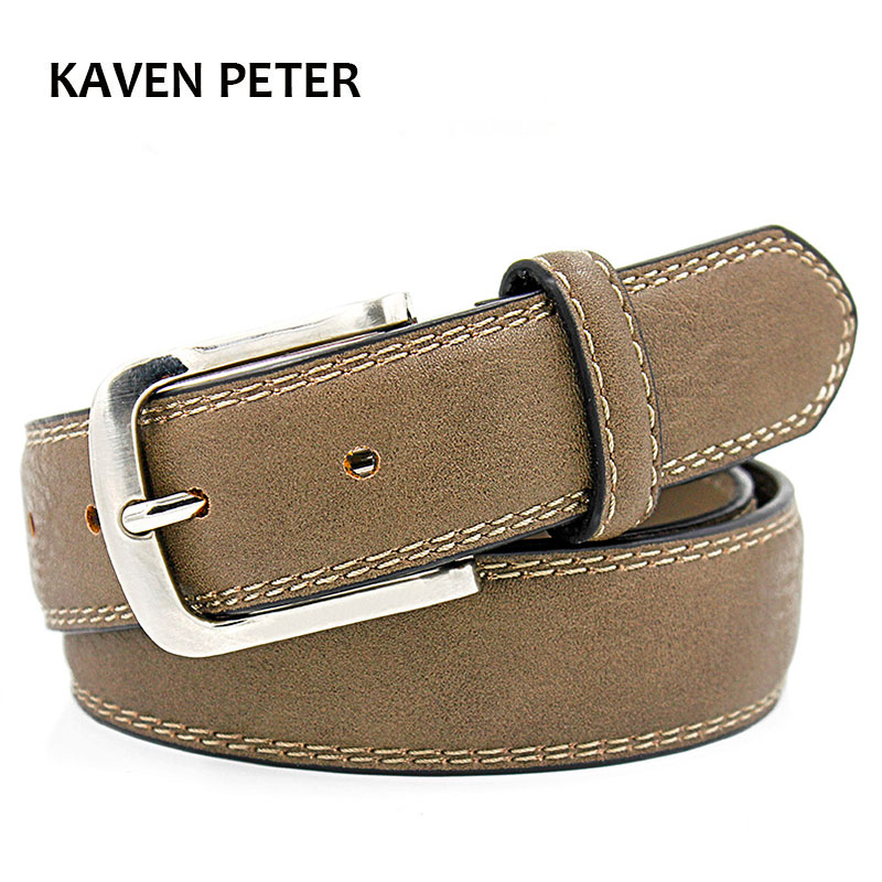 Designer   Belts   High Quality Luxury Brand   Belt   Mens Jeans Brand Luxury With Double Stitching 110 cm 115 cm 120 cm