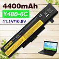 Nueva batería del ordenador portátil para lenovo y480 l11l6y01 l11l6f01 l11l6r01 l11m6y01 l11n6r01 l11n6y01 l11p6r01 l11s6f01 l11s6y01 45n1048