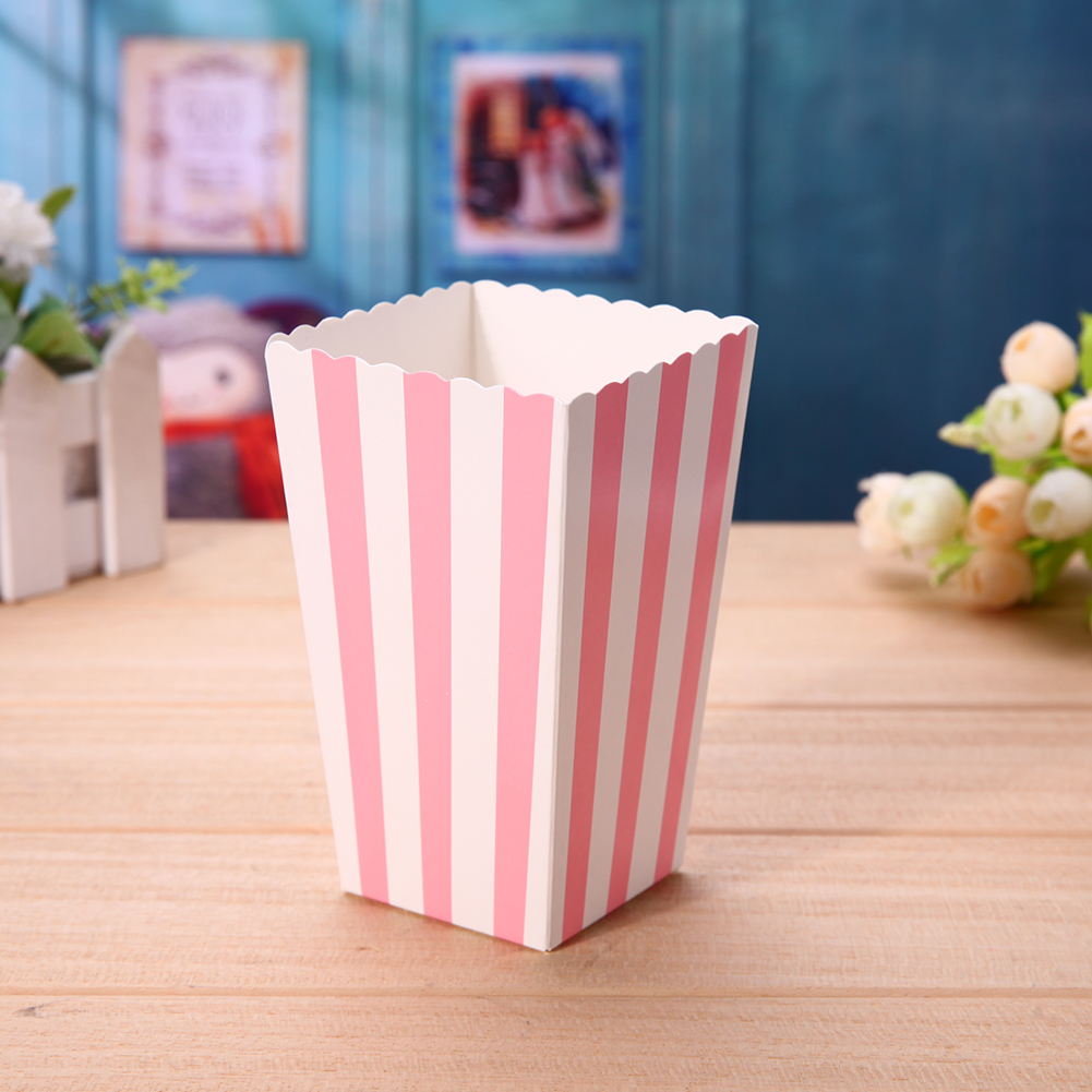 12pcs Favor Candy Treat Popcorn Boxes for Wedding Party Supply Baby ...