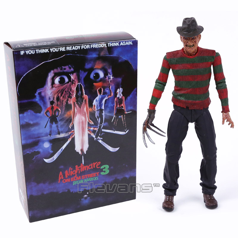NECA A Nightmare on Elm Street 3 Dream Warriors Freddy Krueger PVC Action Figure Collectible Model Toy 7inch 18cm horror film a nightmare on elm street 3 freddy krueger toys with lighting house action figure neca pvc collection model toy 28cm