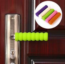6pcs/set security Anti-collision Knob For Kids Room Baby Children Safety Door Handle Protective Cover Handle Protective Sleeve  doorknob pad cases for baby children safety door handle spiral anti collision knob set home safety decorations