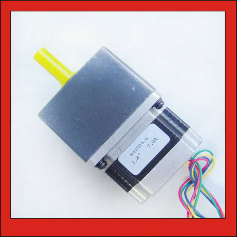 5 1 10 1 NEMA 23 Geared Stepper Motor 57mm Gearbox Stepper Motor Length 76mm