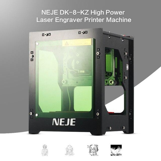 2018 שדרוג NEJE 1000 mW cnc crouter cnc לייזר חותך מיני cnc חריטת מכונת DIY הדפסת לייזר חרט במהירות גבוהה הספירה מתסכל