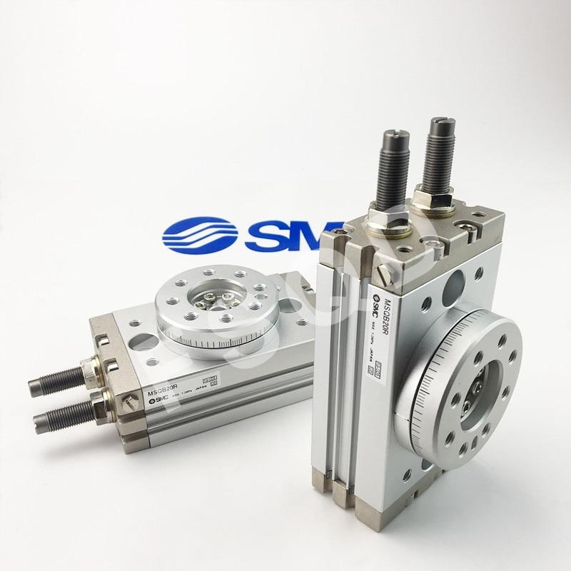 MSQB10R MSQB20R MSQB30R SMC rotary table rack pinion style cylinder MSQ Series