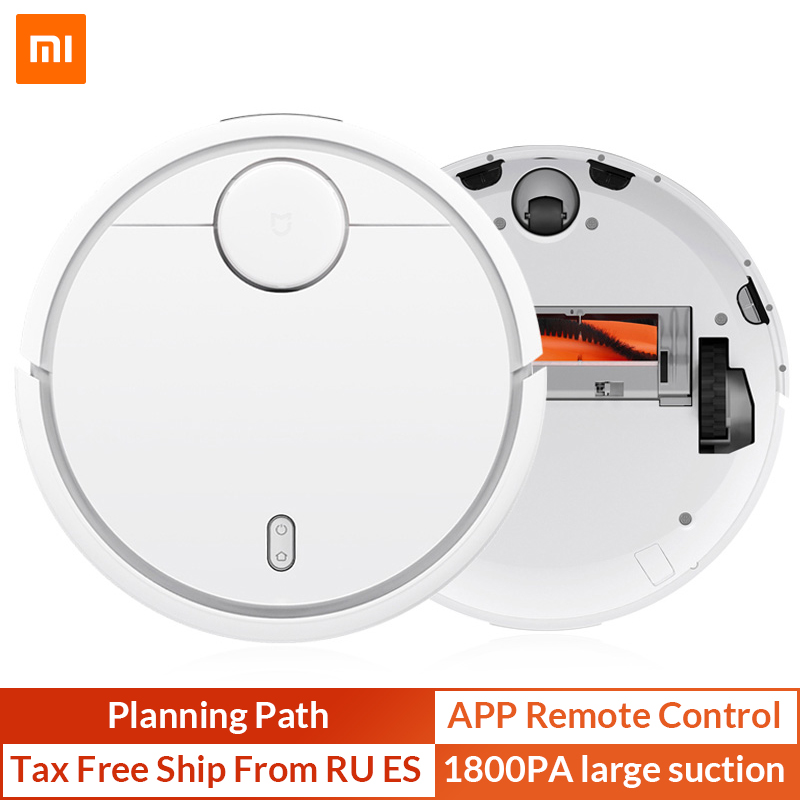 Оригинальный XIAOMI Mijia MI робот пылесос для дома автоматическая подметальная пыль стерилизовать Smart запланированный мобильное приложение пул...