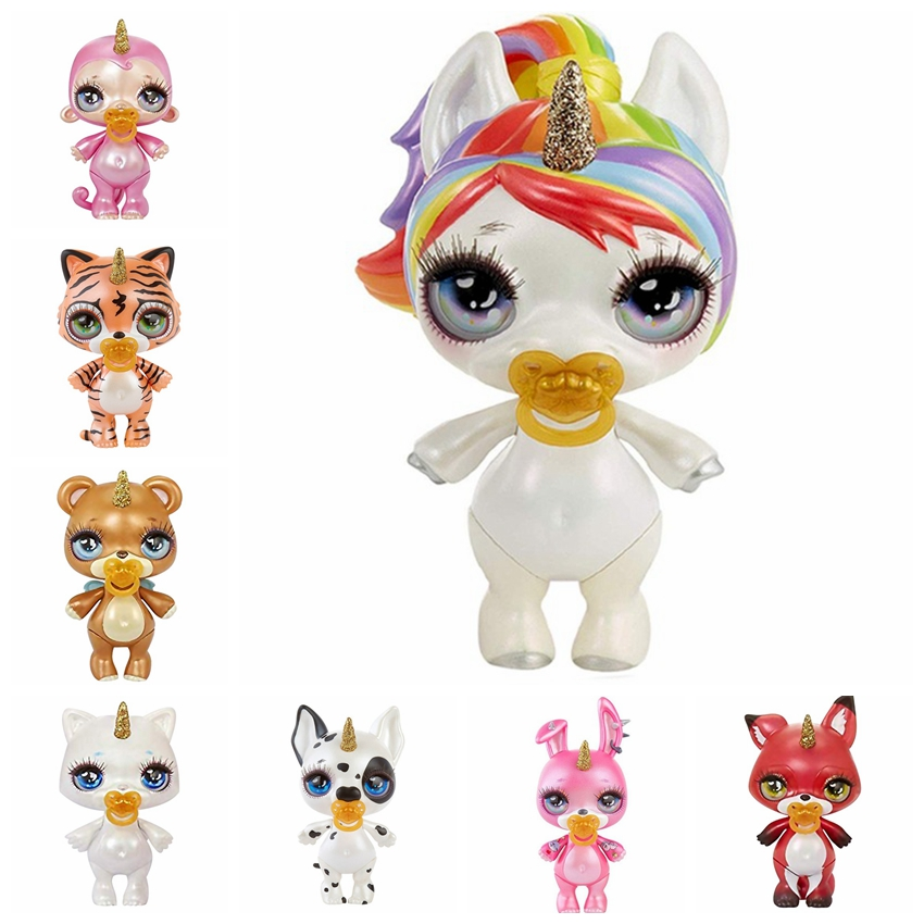 Toys & Hobbies 16pcs Poopsie Slime Surprise Unicorn Spit Mucus Doll Toys Stress Relief Toy Squeeze For Children With Base Action Toy Figures