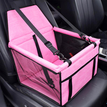 Double Layer Frosted Oxford Cloth Pet Car Seat Cover Breathable Waterproof Cat Dog Front Row Bag Cushion