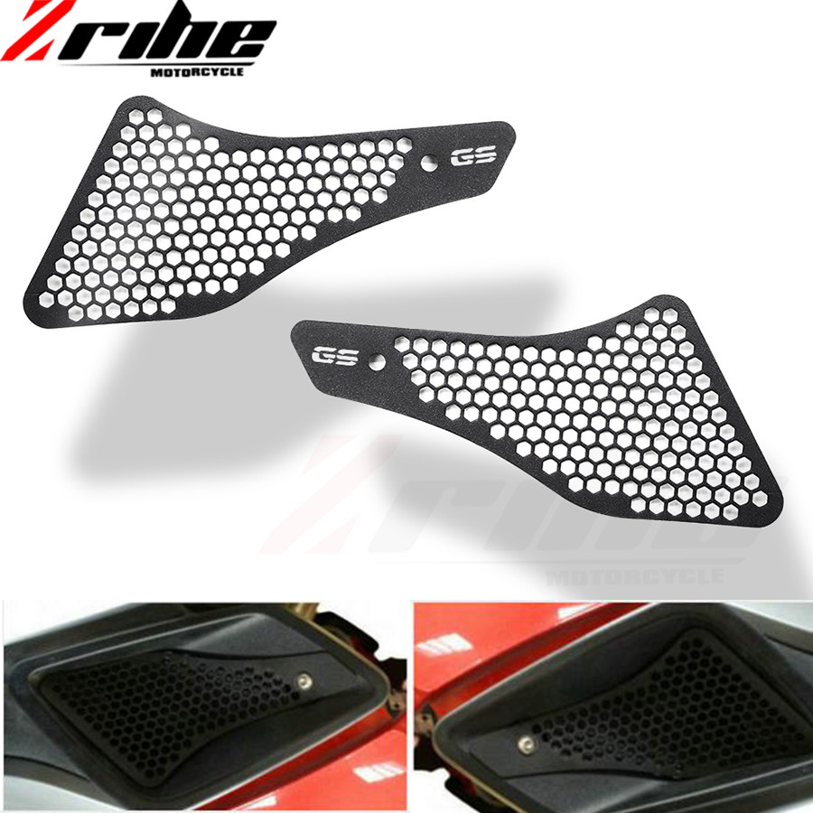 Moto Parts Air Intake Protector For BMW R1200GS 2013 - 2017 K51 R1200GS LC 2013 - 2016 Motor bike Grille Guard Covers Aluminum акрапович для бмв r1200gs 2013