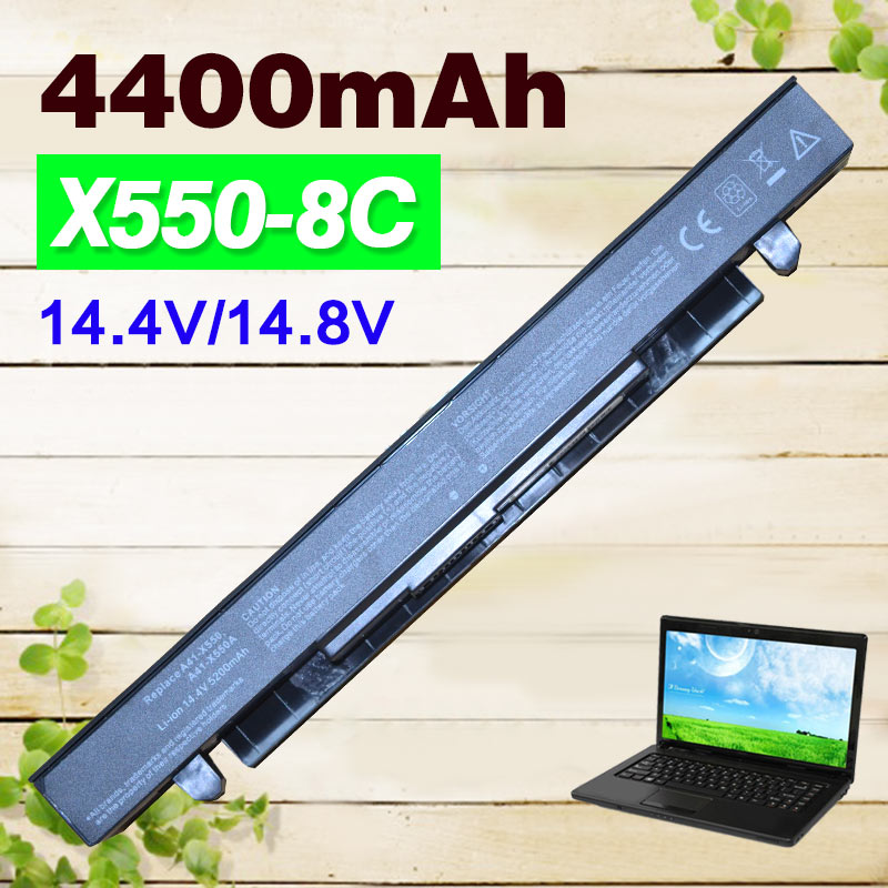Apexway 4400mah Laptop Battery for Asus A41-X550 A41-X550A A