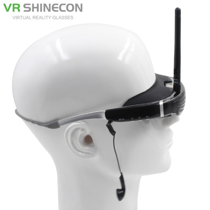 5 8GHz 40CH Wireless FPV Glasses 68 inch Private font b Virtual b font Theater Video
