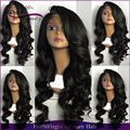 150% Density Loose Wave Full Lace Wig Virgin Brazilian Human Hair Lace Front Wigs Side Part Human Hair Wigs With Bangs