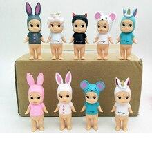 9ชิ้น/ล็อตSonny Angelพืชสัตว์เด็กAction Figure Original Limited Editionของขวัญเด็กน่ารักKawaii Action Figureของเล่น