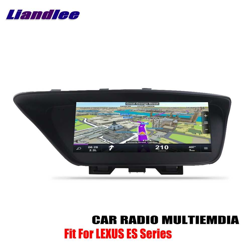 Liandlee For LEXUS ES XV60 2013~2016 Android Car Radio Player GPS Navi  Navigation Maps Camera OBD TV Screen Multimedia no CD DVD