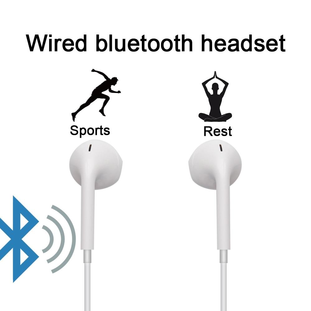 High Quality S6 Sports Wireless Bluetooth Earphones Headset Earpiece Headphones With Mic black 4