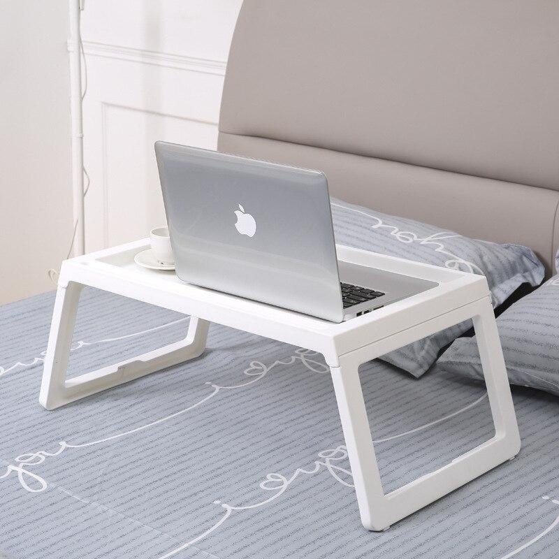 1 Stück Einstellbare Faltbare Laptop Notebook Lap Pc Folding Schreibtisch Computer Schreibtisch Tragbare Verstellbare Tisch Entlüftet Stehen Bett Tablett Angemessener Preis