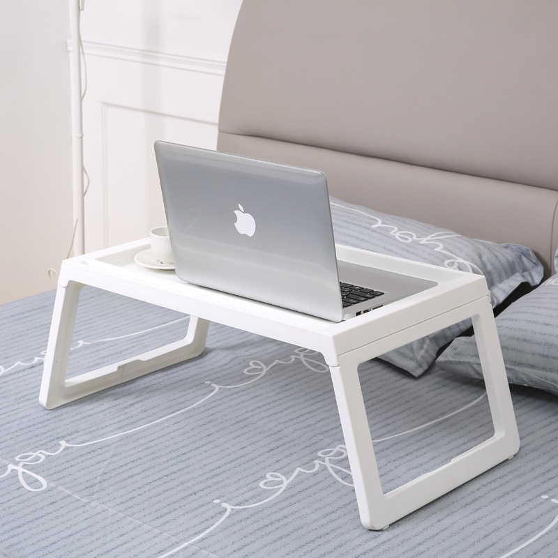 1Pc Adjustable Foldable Laptop Notebook Lap PC Folding Desk Computer Desk Portable Adjustable Table Vented Stand Bed Tray 1pc white multifunctional light foldable table dormitory bed notebook small desk picnic table laptop bed tray