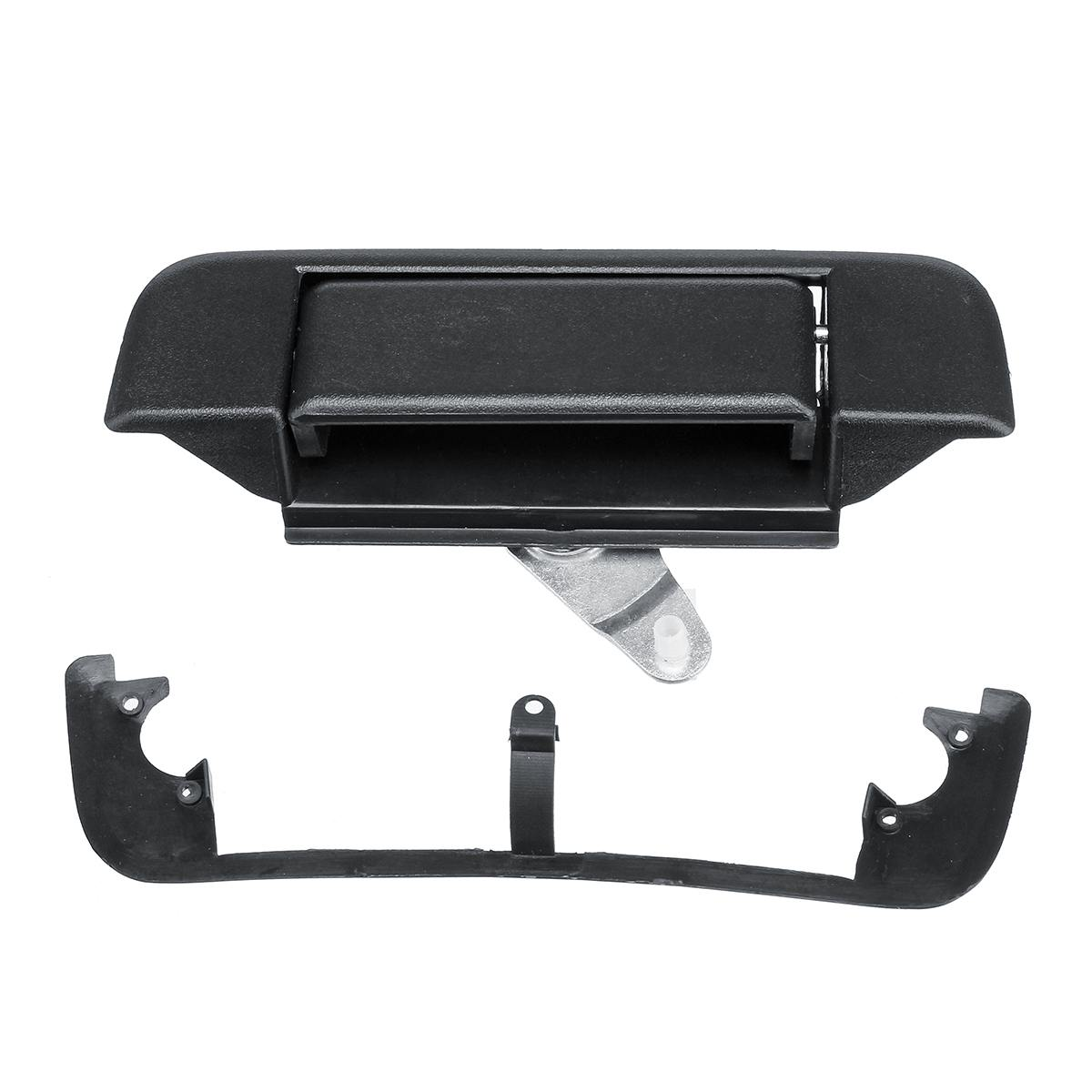For Toyota Tacoma Chrome ABS Rear Tailgate Door Handle Cover With Camera Hole