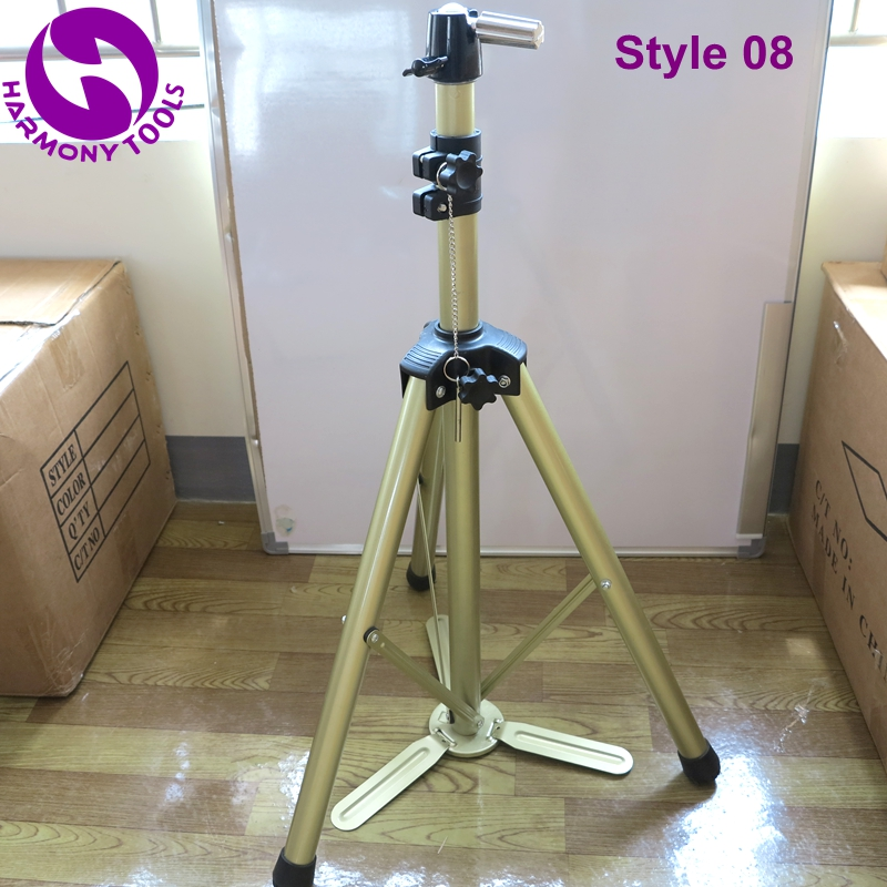 Wig Stands Just Harmony 1 Piece Lf-6307a Stable Aluminium Alloy Tripod Floor Holder For Training Doll Head Mannequin Manikin Canvas Block Head Tools & Accessories