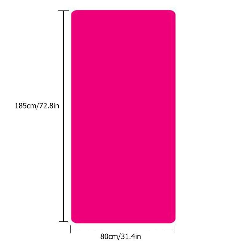 10MM Yoga Mat NBR Fitness Mat Thick Non-slip Sport Yoga Gym Mat Esterilla Pilates Tapete Yoga Mat with Strap 3
