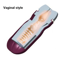 QUYUE Male Masturbator For Man Realistic Vagina Real Pocket Anal Pussy Toys For Men Sex Huevo Masturbador Masculino Sexo Hombre