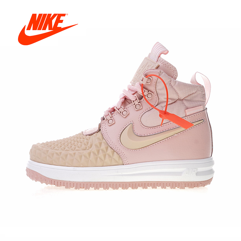 Original New Arrival Authentic Nike Lunar Force 1 Duckboot 17 Women's Skateboarding Shoes Sneakers Good Quality 922807-600