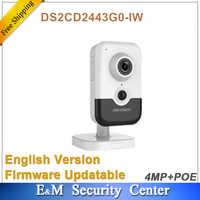 Original hik englisch version DS-2CD2443G0-IW ersetzen DS-2CD2442FWD-IW 4MP Mini box mic gebaut in Netzwerk Kamera WIFI