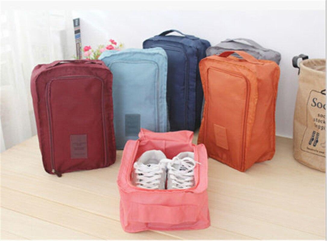 2019 Hot Waterproof Women Travel Cosmetic Bag Organizer Makeup Case Pouch Toiletry Make Up Bag Men's Shose Bag
