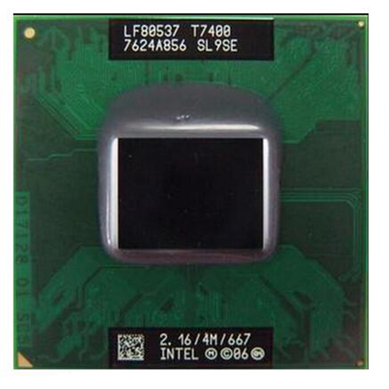 T7200 7200 CPU 4M Socket PBGA479 (Cache/2.0GHz/667/Dual-Core) Laptop Core processor